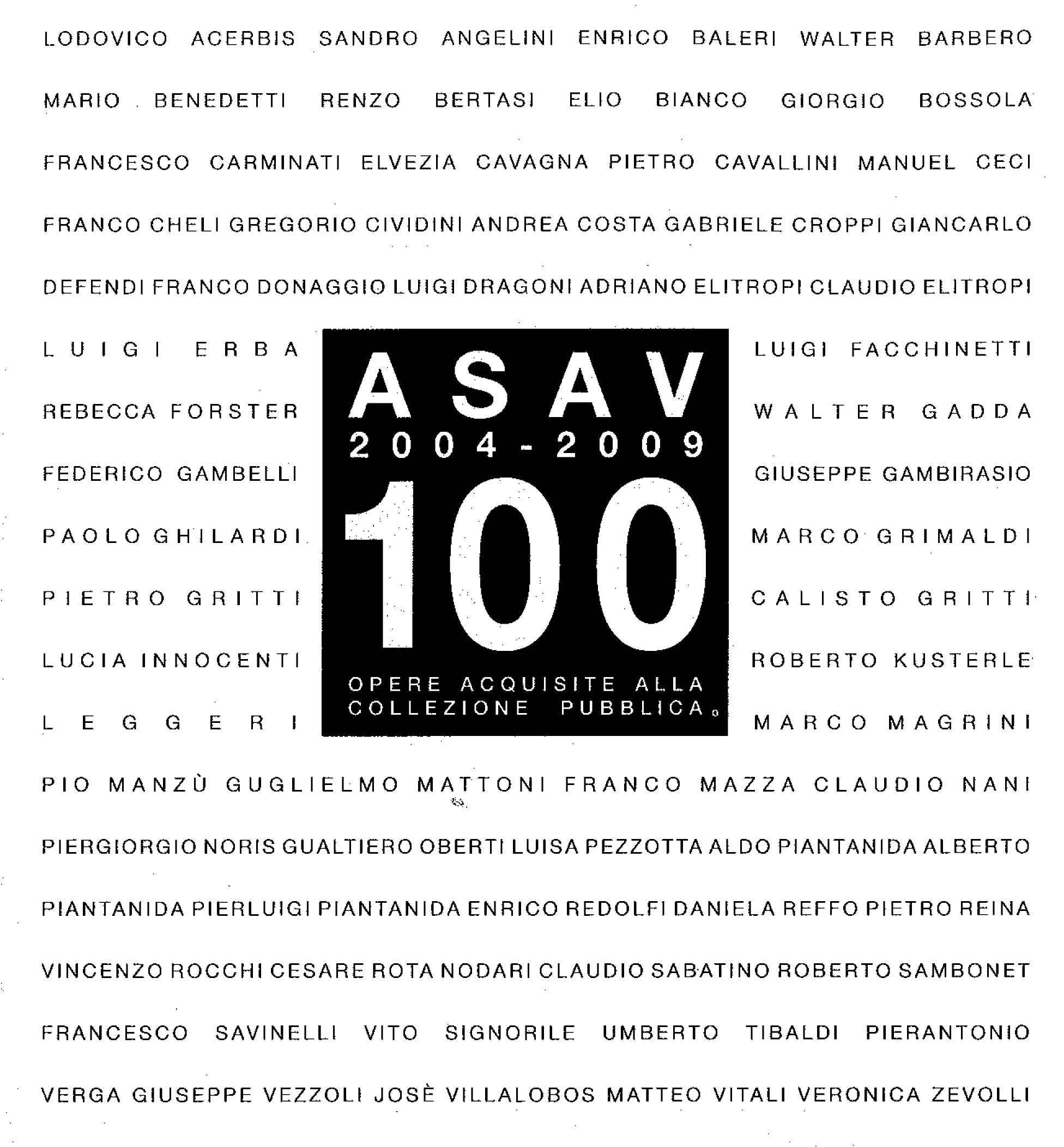 Pubblicazioni - Asav 2004-2009 - oberti+oberti   architetti