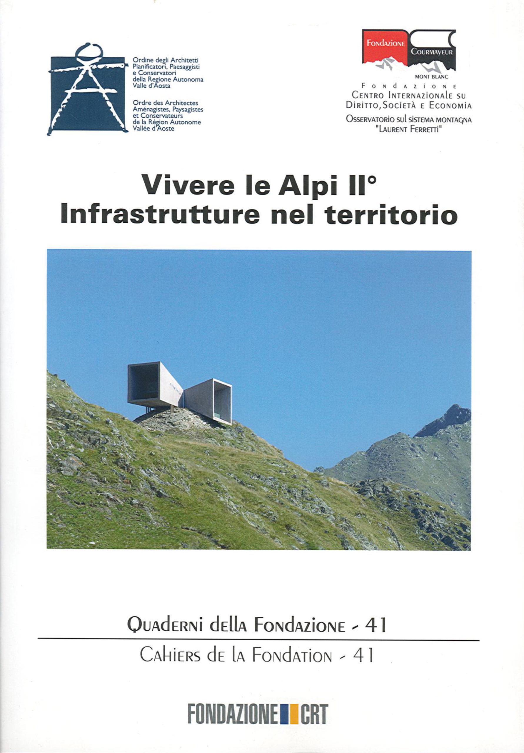 Pubblicazioni - Vivere le Alpi - oberti+oberti   architetti