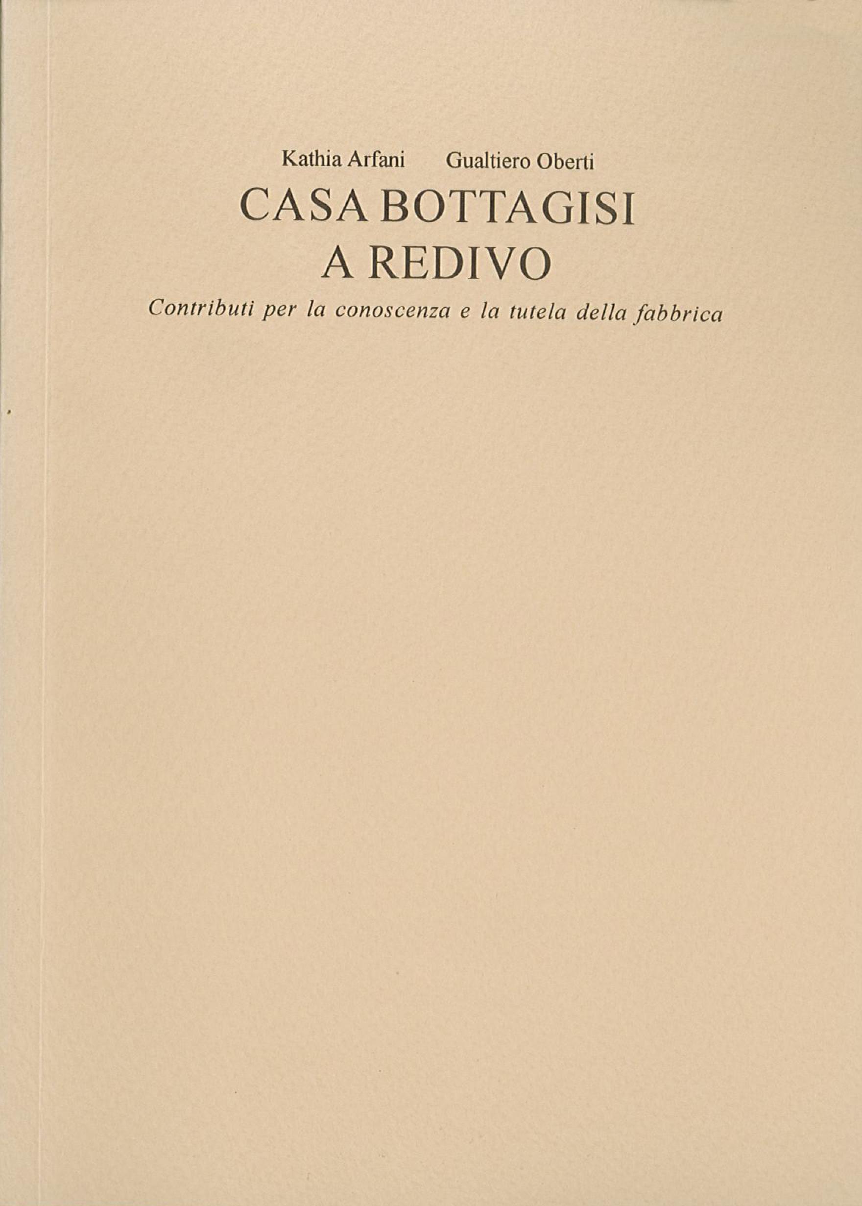 Pubblicazioni - Casa Bottagisi - oberti+oberti   architetti