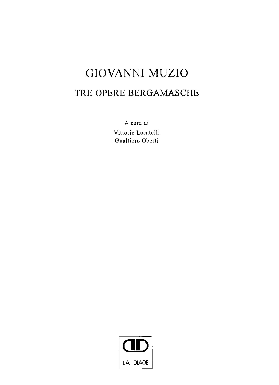 Pubblicazioni - Giovanni Muzio - oberti+oberti   architetti