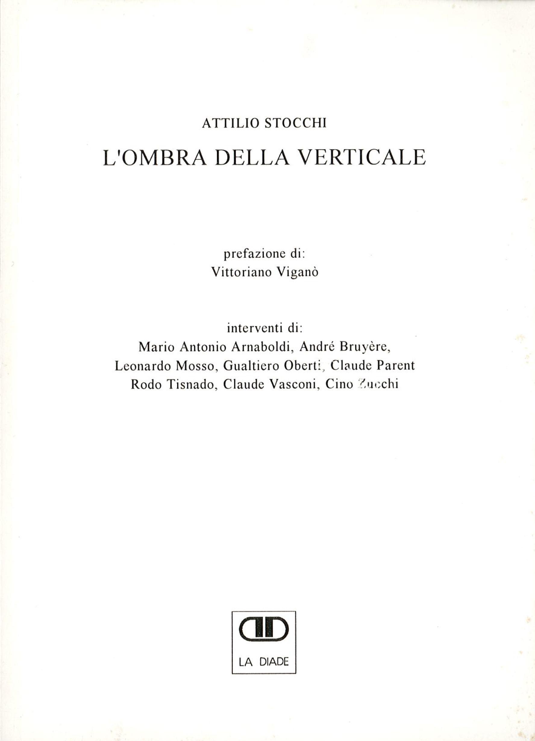 Pubblicazioni - L'ombra della verticale - oberti+oberti   architetti