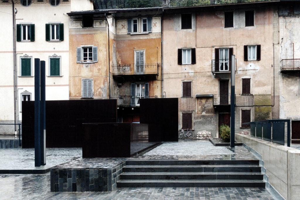 Piazza Codussi - Lenna Bg - oberti+oberti | architetti