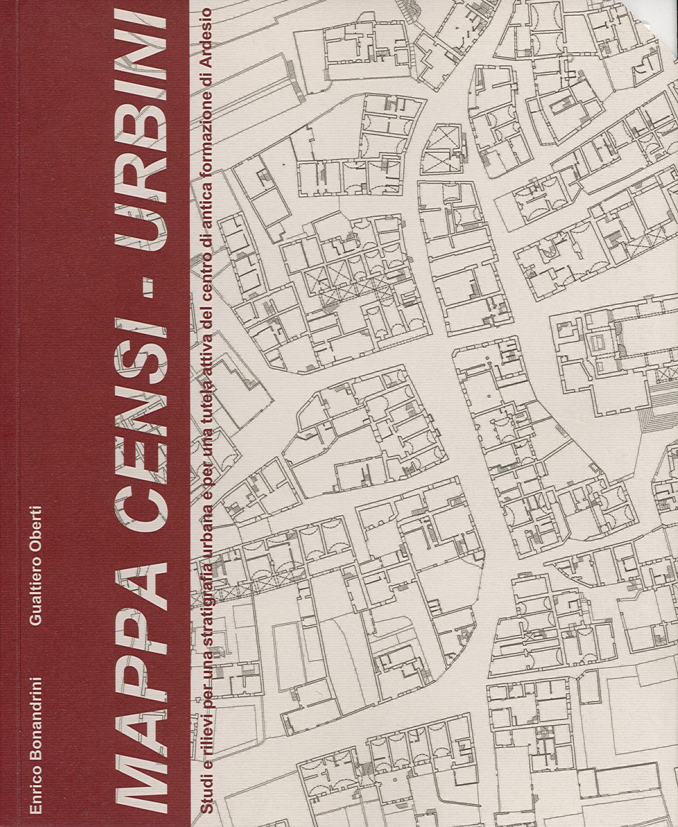 Pubblicazioni - Mappa censi urbini - oberti+oberti   architetti