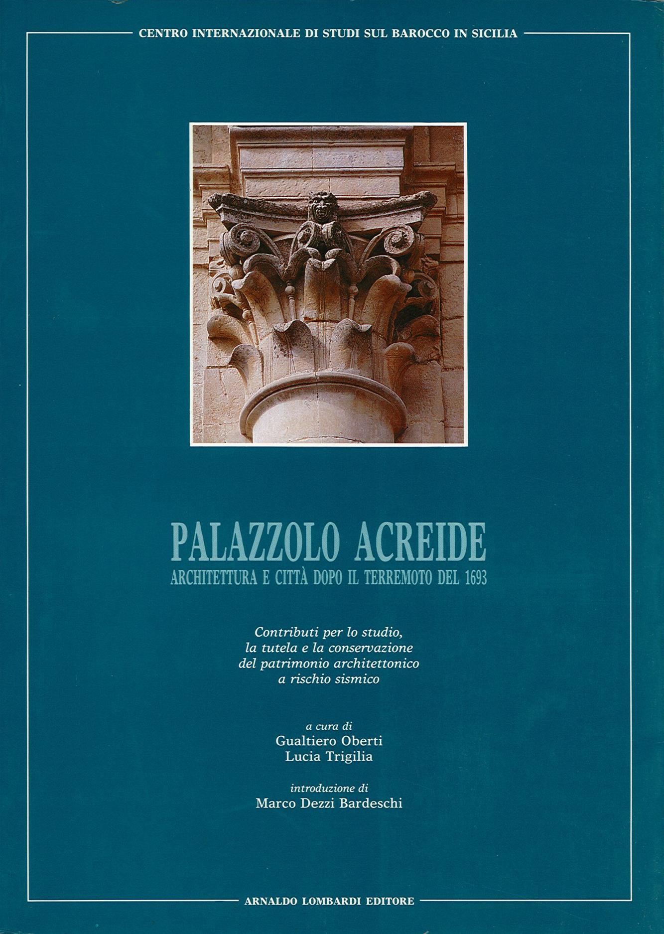 Pubblicazioni - Palazzolo Acreide - oberti+oberti   architetti