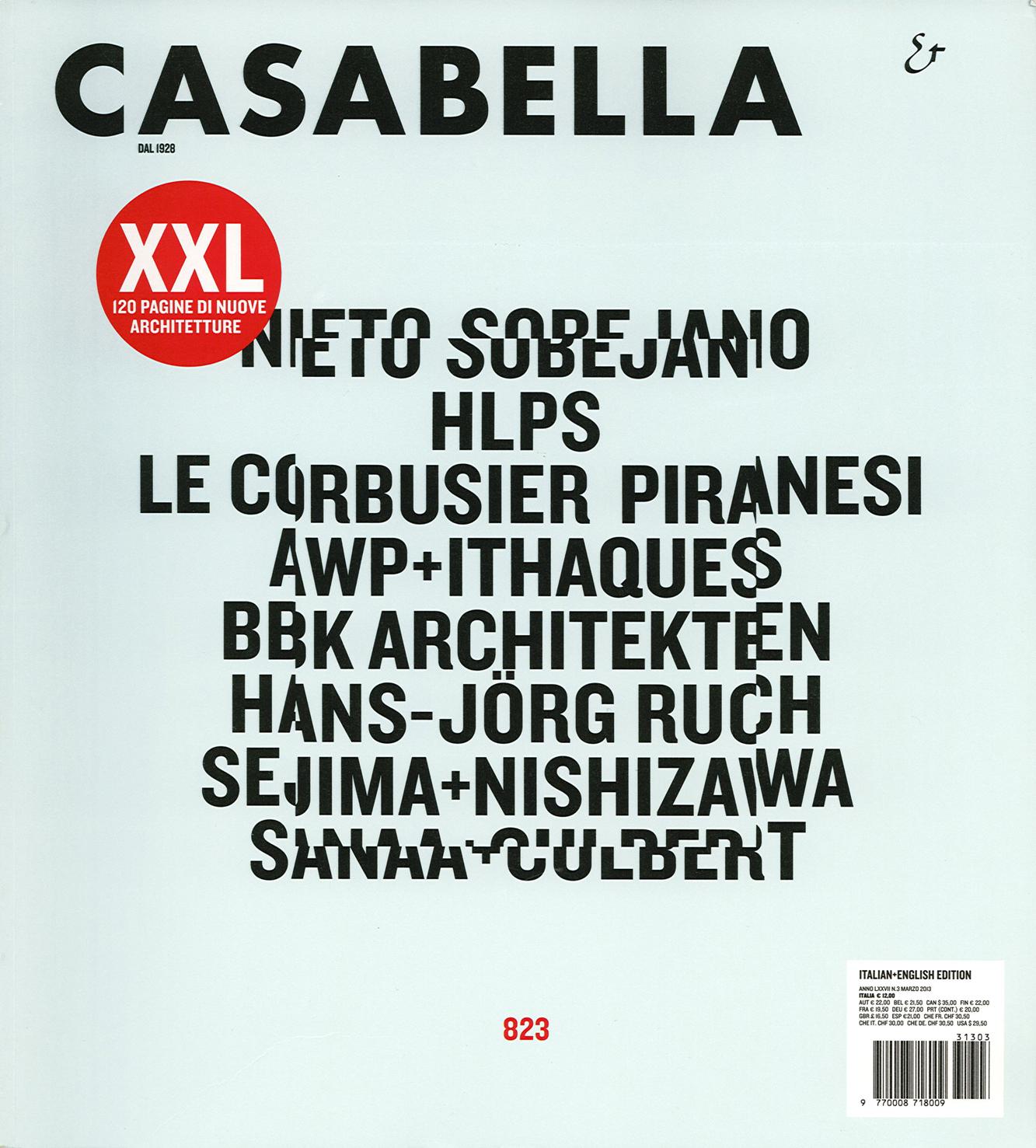 Pubblicazioni - Casabella 823 - oberti+oberti   architetti