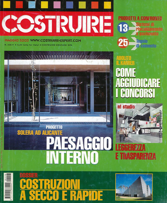 Pubblicazioni - Costruire 228 - oberti+oberti   architetti