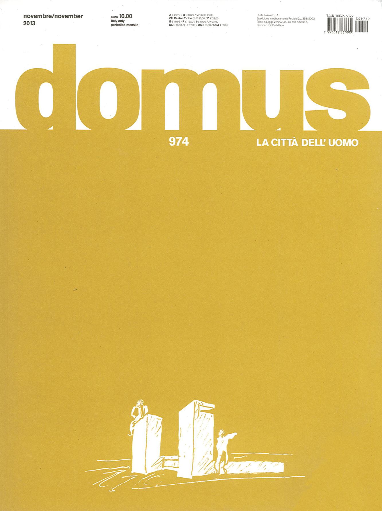 Pubblicazioni - Domus 974 - oberti+oberti   architetti