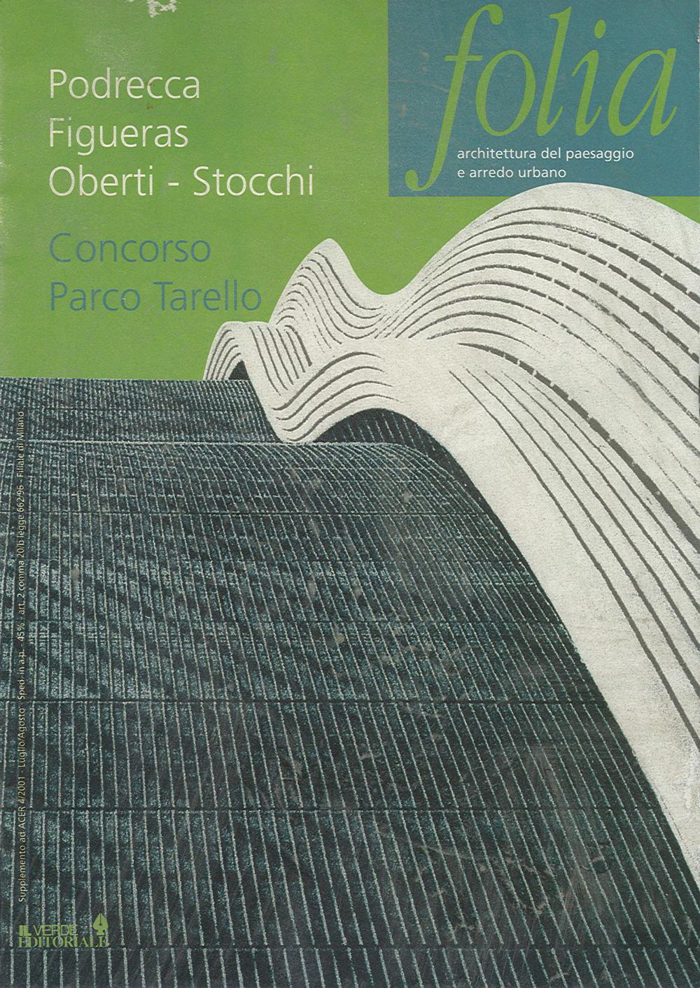 Pubblicazioni - Folia - oberti+oberti   architetti