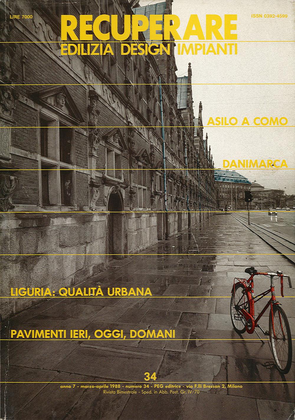 Pubblicazioni - Recuperare 34 - oberti+oberti   architetti